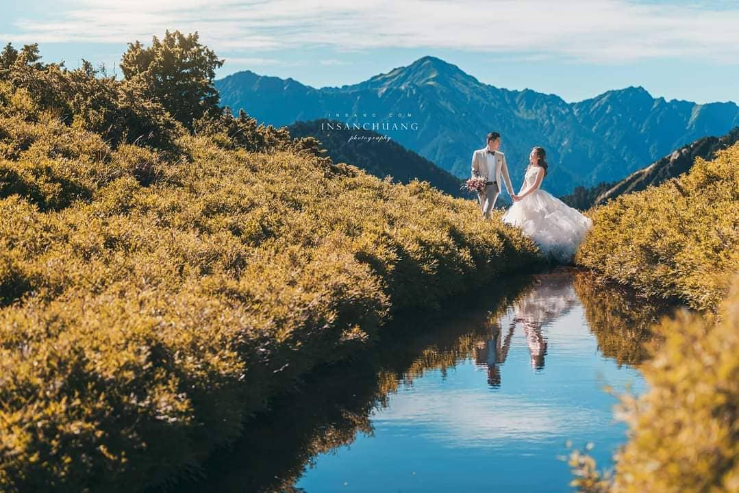 合歡山石門山日出婚紗,攝影英聖,造型晼屏