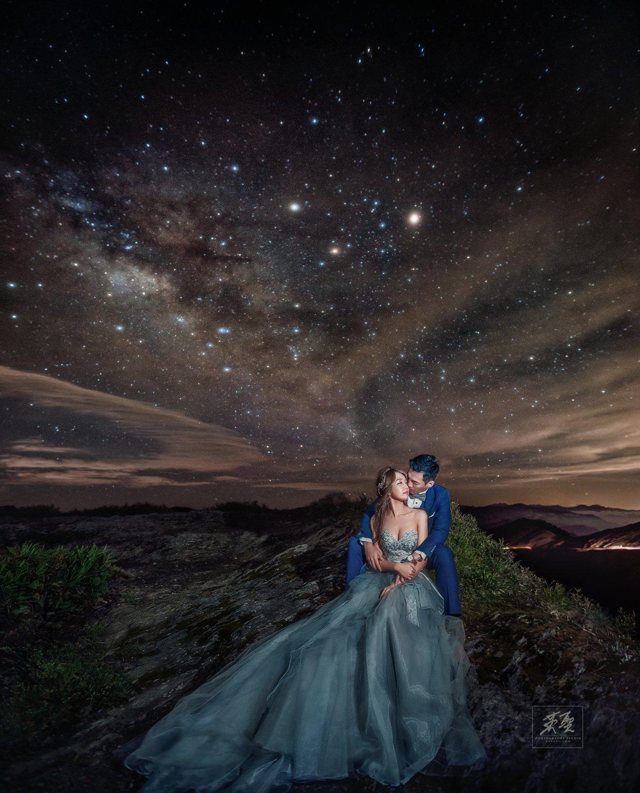銀河婚紗星空婚紗