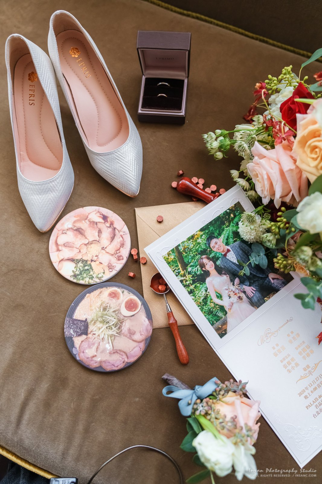 婚攝英聖-婚禮小物、婚鞋、婚戒