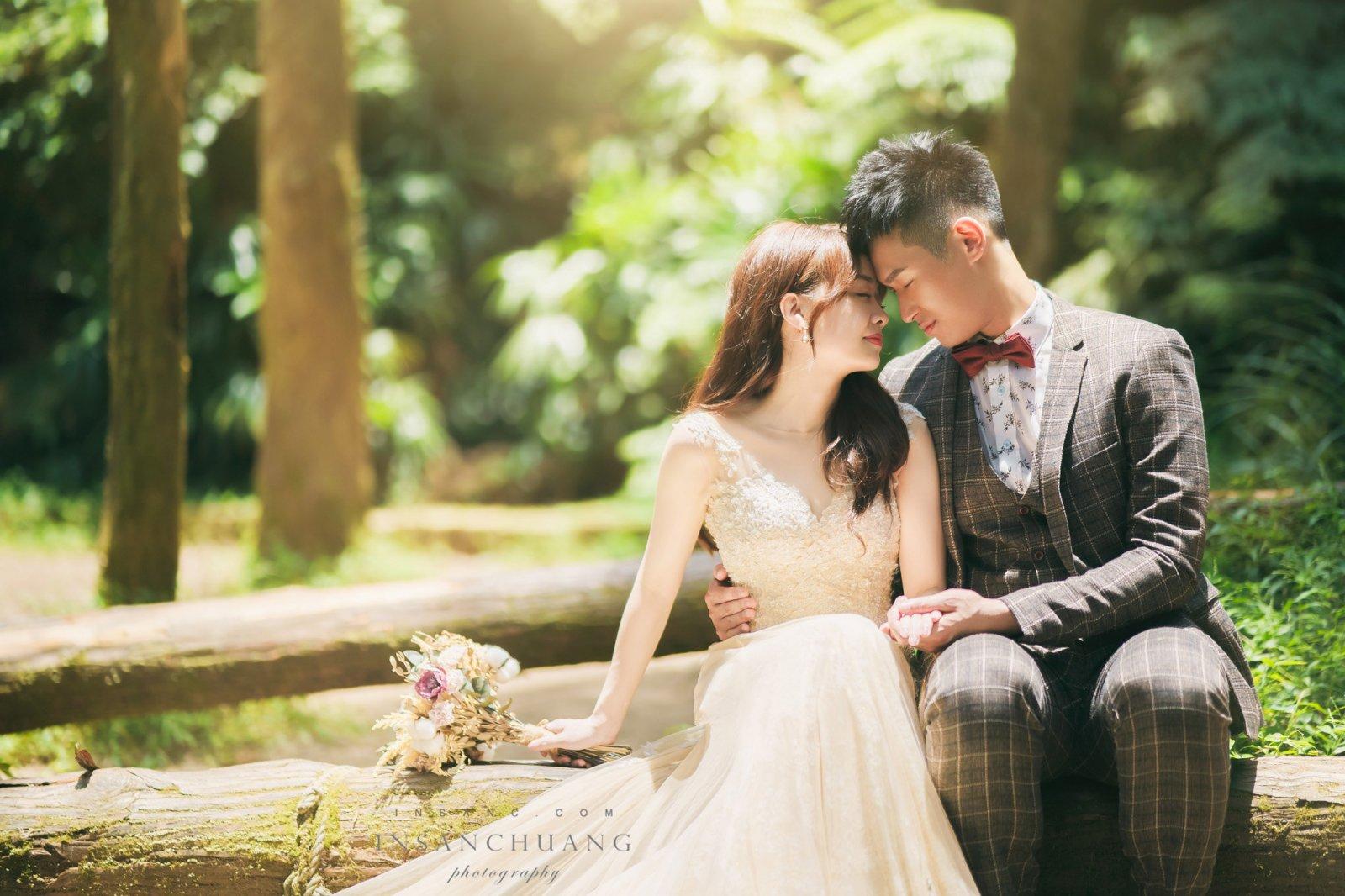 婚攝英聖-陽明山黑森林婚紗