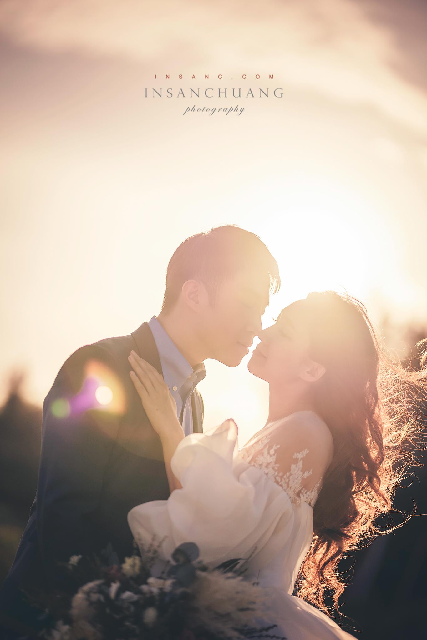 台北婚紗-夕陽沙崙海灘