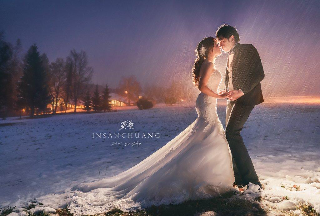 婚攝英聖海外婚紗-德國黑森林雪景婚紗