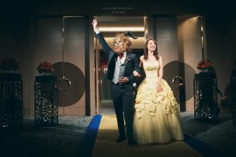艾美寒舍婚禮-美女與野獸