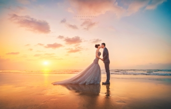 婚攝英聖-淡水夕陽婚紗-新加坡馬來西亞