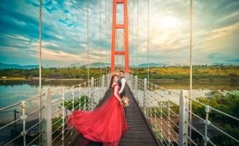 婚攝英聖龍門吊橋婚紗